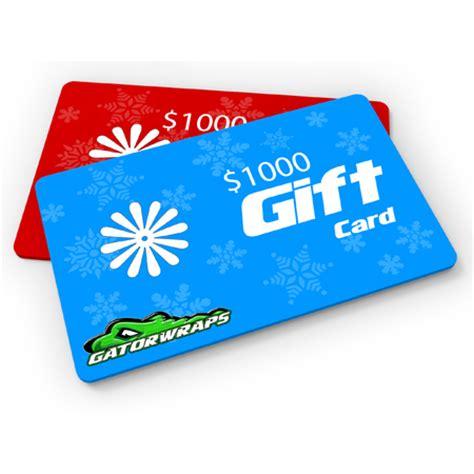 gift card 1000 shopping clovia gatorwraps payment gatorprints