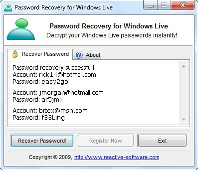 reset windows 8 password hotmail windows live msn crack slotfree0