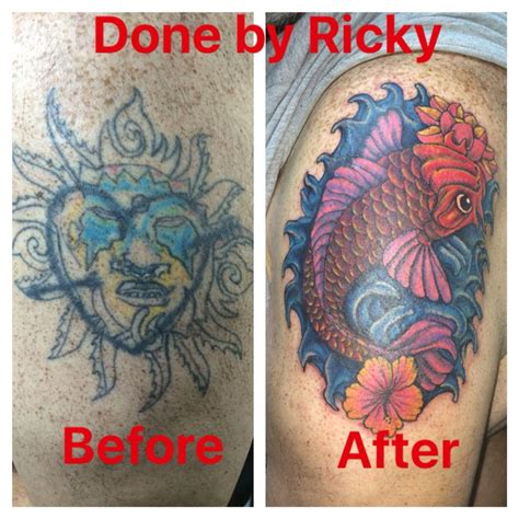 tattoo removal victoria tx cover up done by ricky garza in tx