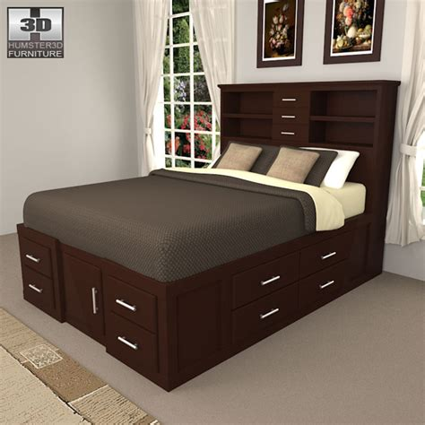 3d bedroom sets bedroom furniture 24 set 3d model hum3d