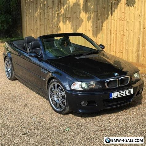 bmw e46 for sale uk 2005 sports convertible m3 for sale in united kingdom