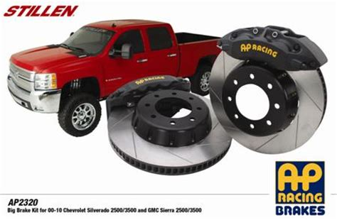 stillen releases  ap racing brake kit  gm