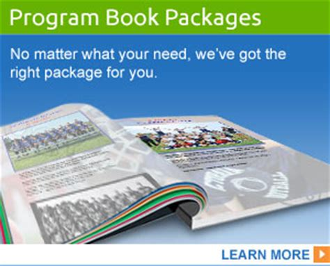 Customizable Design Templates Sports Program Printing Sports Program Templates