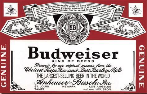 Cinco Continentes en el logo de Budweiser   Budweiser