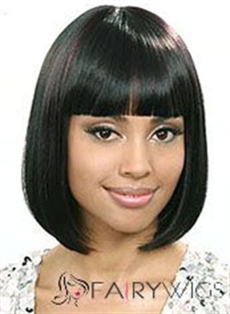 fairy wigs african american wigs picturejpg short wig online short straight black full bang african american