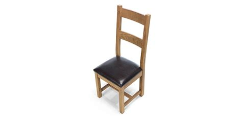 Rustic Oak Dining Chairs Rustic Oak Dining Chairs Pair Lifestyle Furniture Uk