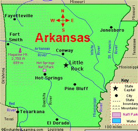 united states map showing arkansas churches of in arkansas cities a thru d