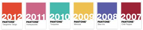 2007 The Year In Color by Pantone Color Of The Year 2013 Emerald