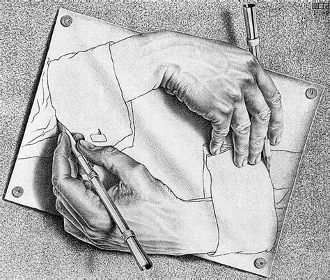 C M Sketches by Drawing By M C Escher 1948 Eye Deas