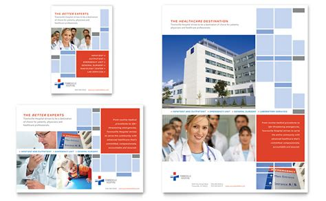 publisher templates for advertising hospital flyer ad template word publisher