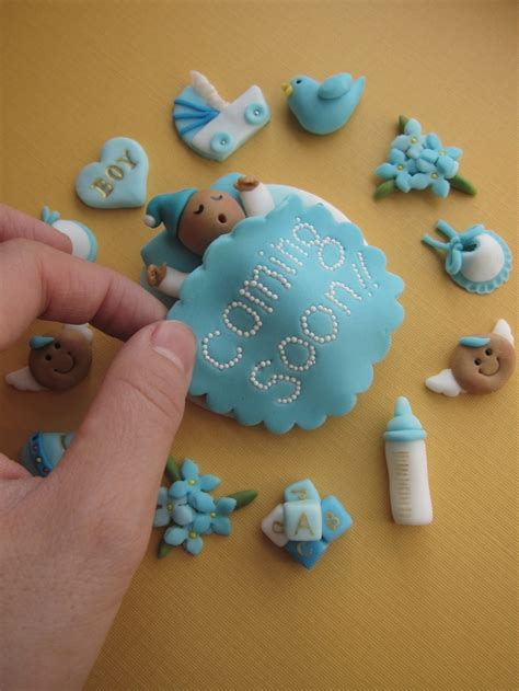Cupcake Toppers For Baby Boy Shower by Best 25 Baby Shower Cake Toppers Ideas On Boy