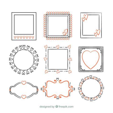 disegni per cornici disegno cornici decorative scaricare vettori gratis