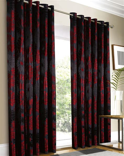 red black and gray curtains gray and red curtains best ideas about red curtains on