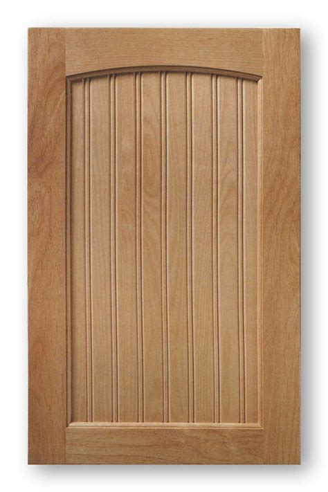 Beaded Cabinet Doors Arch Top Bead Board Cabinet Door Indiana Acmecabinetdoors