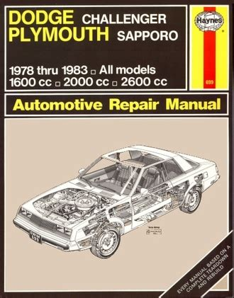 what is the best auto repair manual 1978 chevrolet corvette parental controls dodge challenger plymouth sapporo repair manual 1978 1983 haynes