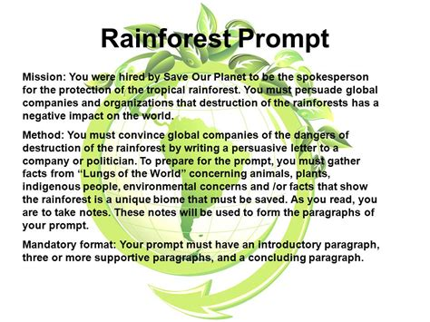 Of The Rainforest Essay by Rainforest The Lungs Of The World Ppt