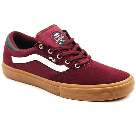 Vans Gilbert Crockett Pro Denim Black Gum Premium Icc 1 vans gilbert crockett pro port royal gum forty two skateboard shop