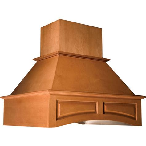 Oven National Omega range hoods island wooden range with arched valence