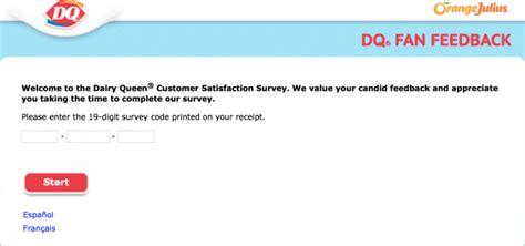 dq fan feedback survey dqfansurvey com dq fan feedback and survey