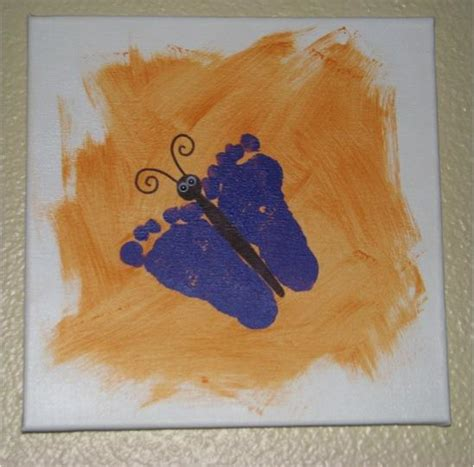 footprint crafts for 19 easter foot print crafts spaceships and laser