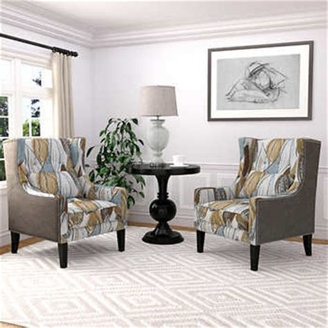 sofa and two accent chairs chairs