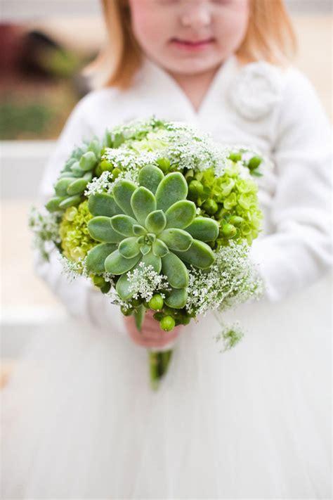 wedding inspiration green wedding bouquets