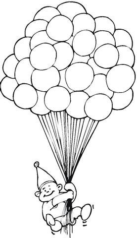 en iyi balon boyama sayfalari