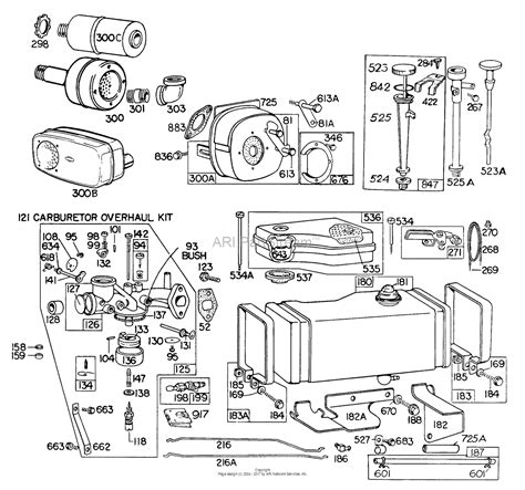 briggs and stratton fuel diagram briggs and stratton 190702 5155 99 parts diagram for carb