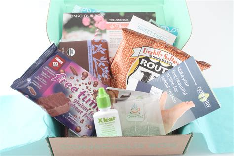 Coupon Giveaway - conscious box june 2014 review coupon giveaway subscription box mom