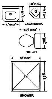 Bathroom Fixture Dimensions Cost Of Adding A Bathroom Victoriana Magazine