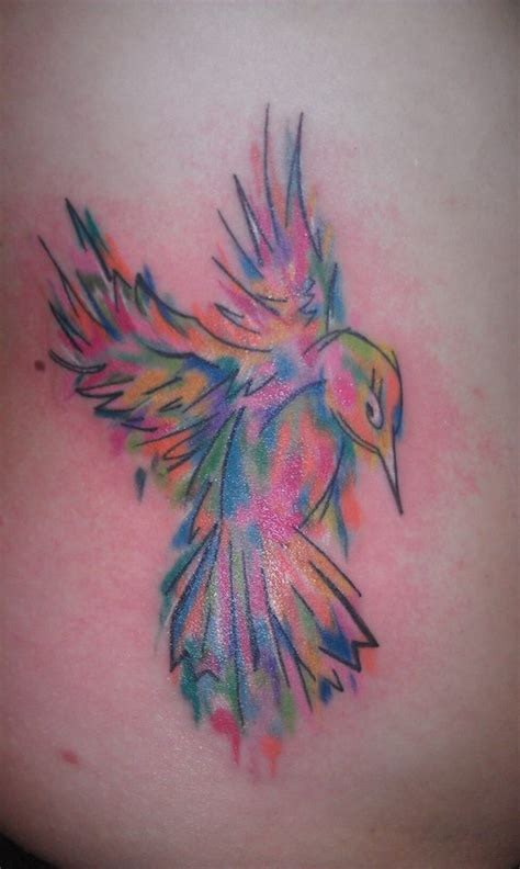colorful hummingbird tattoo designs colorful hummingbird headless custom