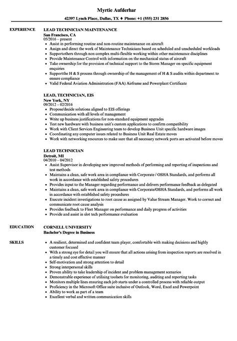 computer repair technician resume 1 38 best summary