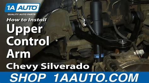 replace upper control arm   chevy suburban