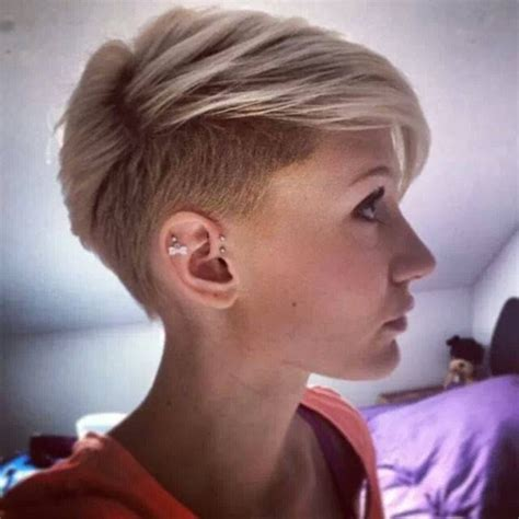 short hair styles shaved around ears 40 short pixie hairstyles for women teen formula