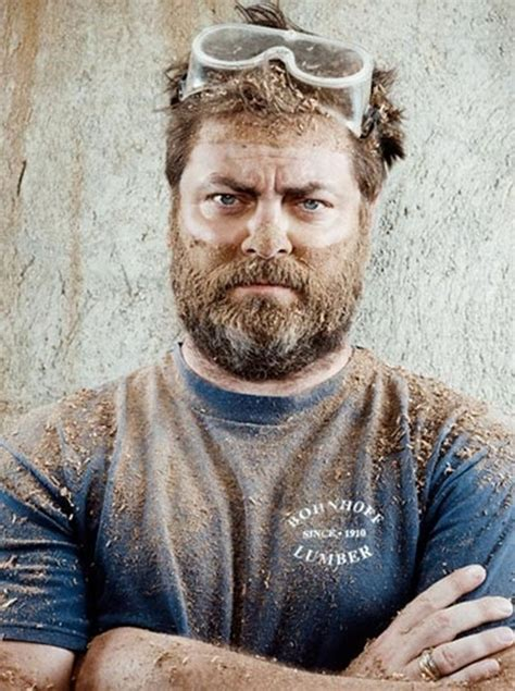 nick offerman reflects   obsession  woodworking