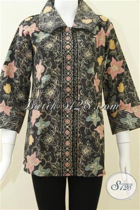 El Mukena Batik Cap Katun busana batik warna elegan batik fashionable asli