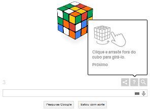 doodle do cubo magico manthano curiosidade homenageia cubo m 225 gico