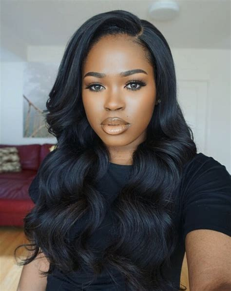 Black Wavy Hairstyles by Best 25 Weave Hairstyles Ideas On Sew In