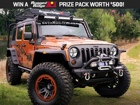 win 500 worth of jeep wrangler gear from terrain