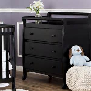 Black Changing Table On Me Liberty Collection 3 Drawer Changing Table Choose Your Finish Walmart