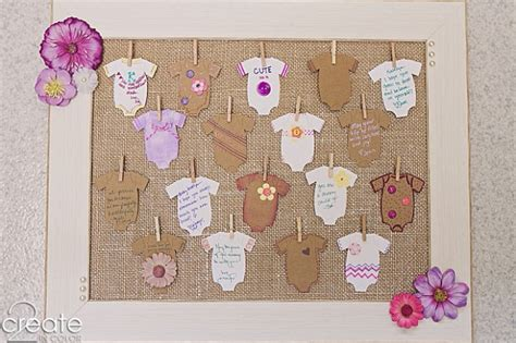 Baby Shower Pic Frames by Baby Shower Wish Frame 187 2create In Color