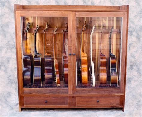 Guitar Storage Cabinet Guitar Habitat Large Craftsman Philadelphia By American Furniture Company Llc