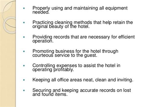 importance of comfort room introduction of rooms division front office and