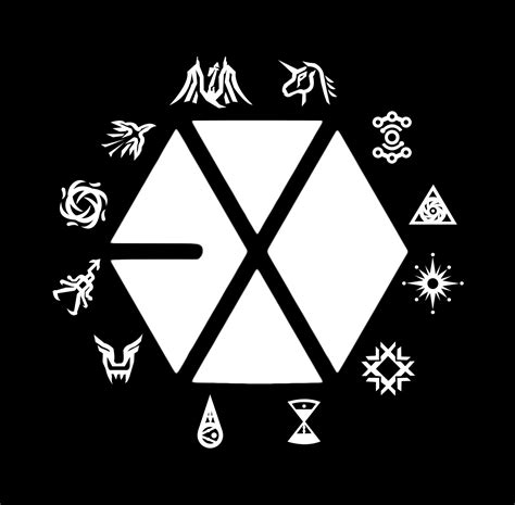 exo wallpaper symbol exo symbol wallpaper