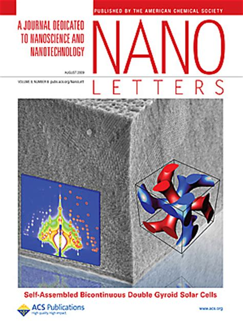 nano letters cover letter wiesner publications