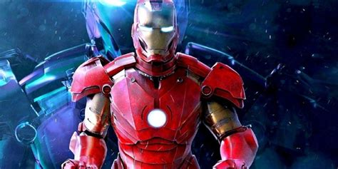 leaked iron man endgame images reveal mark suit