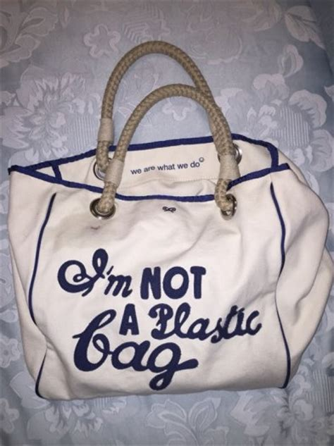 Anya Hindmarchs Im Not A Plastic Bag Bag by Anya Hindmarch Im Not A Plastic Bag For Sale In Dublin 2