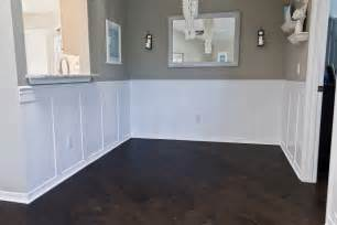 dining room wainscoting building a home remodeling dining room wainscoting done