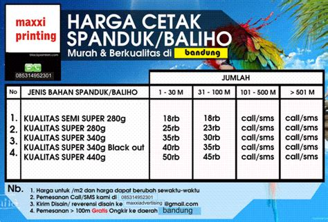 Harga Banner Per Meter by Harga Spanduk Murah Jasa Perijinan Pasang Baligho