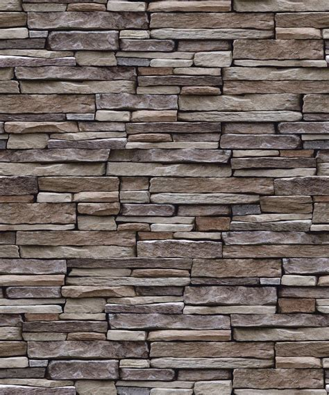 old natural rustic slate stone cottage wall 3d feature